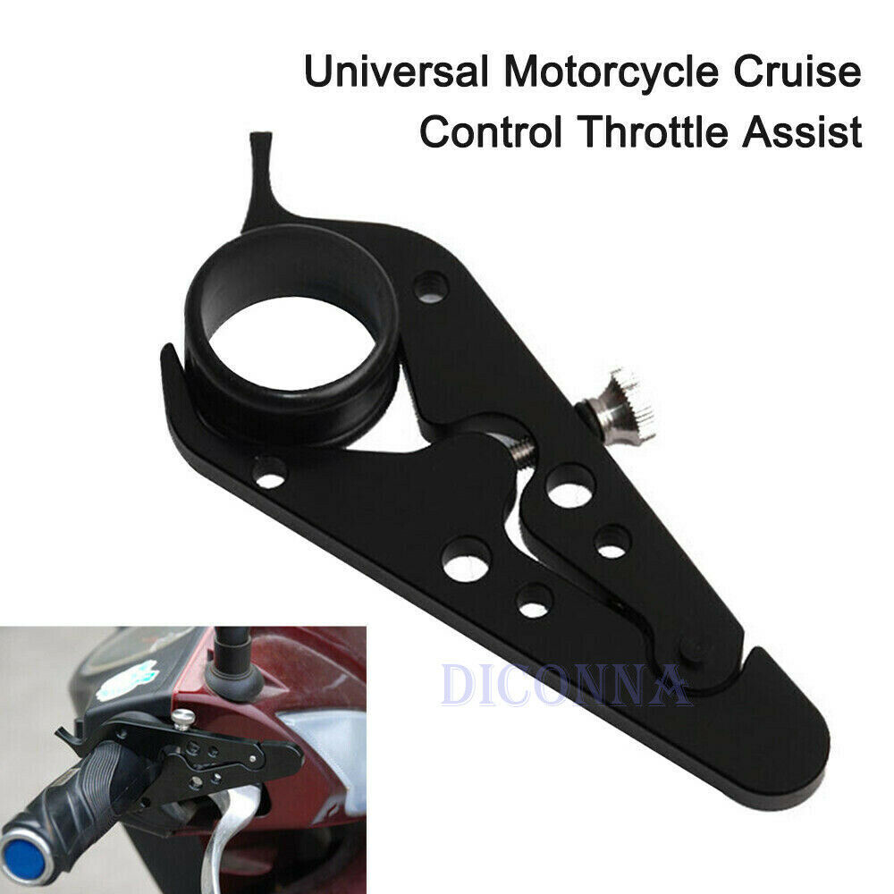 1PC Universal CNC Motorcycle Cruise Control Throttle Lock Assist Retainer Grip