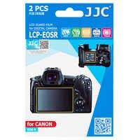 JJC 2 stücke PET Film Screen Protector Kit für Canon EOS R EOSR EOS Ra Spiegellose Kamera Mit 2 stücke PET Film Für Schulter Bildschirm
