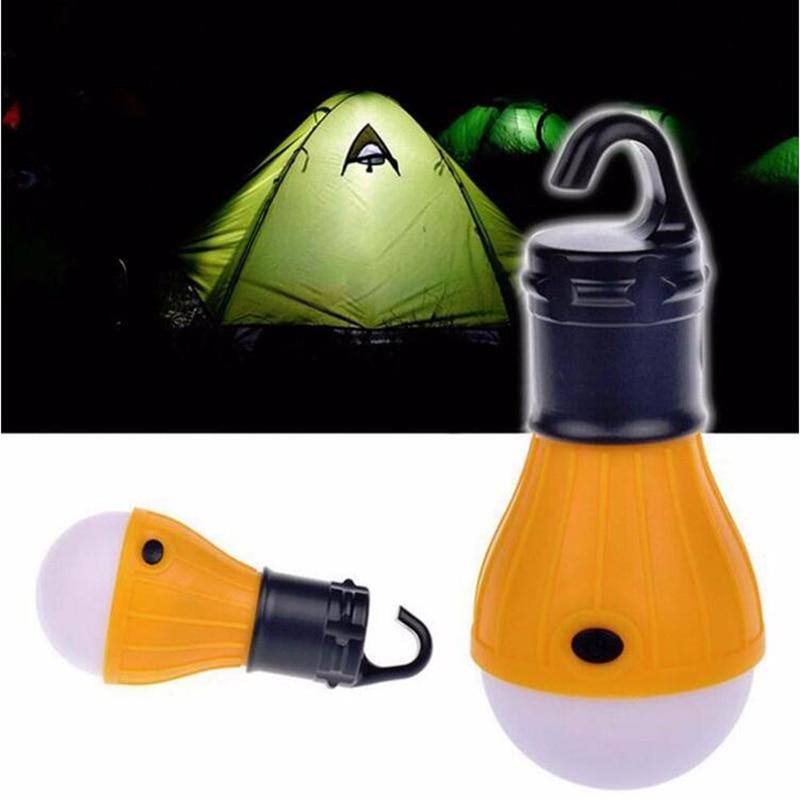 1PC Multifunction Portable Soft Light Outdoor Hanging LED Camping Tent Light Bulb Fishing Lantern Lamp Wholesale