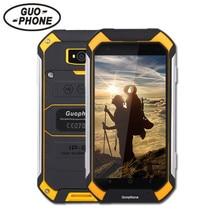 Guophone V19 телефон с IP68 MTK6580 Android 6.0 3 г GPS 1gbram 8gbrom 4.5 дюймов экран водонепроницаемый смарт- телефон PK BV6000