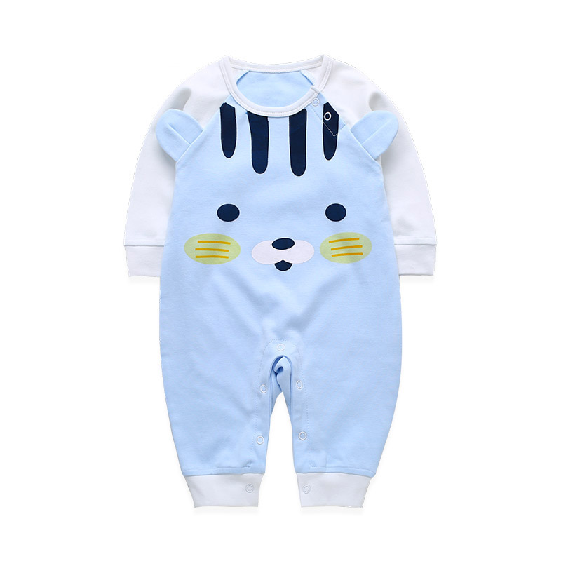 Newborn Baby Bear Jumpsuit Cotton Animal Romper Clothes Baby Girls Rompers Jumpsuits Baby Costume Sleepwear Infant Boy Clothing newborn baby girls rompers cotton padded thick winter clothing set cartoon bear infant climb hooded clothes babies boy jumpsuits