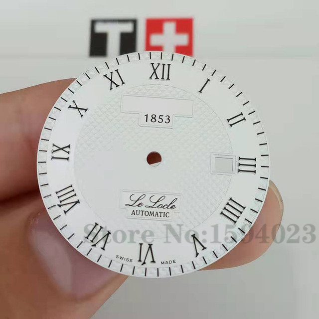 33.9mm watch dial for T41/T006 male mechanical L164/264-1 watch text watch accessories T41 repair parts   Fotoflaco.net