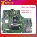Mainboard para asus k53s x53sv a53s motherboard k53sv rev 3.0 hm65 gráficos nvidia com 8 vedio 2g ddr3 testado