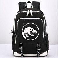 Animal pattern Model Schoolbag Jurassic Dinosaur Backpack Children/Kids Toys Creative Gift Dinosaur world Travel BookBag