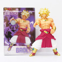 23 centímetros Dragon Ball Z Brolly Super Saiya Figura de Ação Brinquedos Modelo DX Anime DBZ Broly(China)