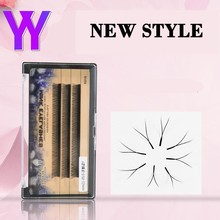 BRILLANT YY Grafting False Eyelashes Coarse One Second Bloom No Scattered Root Hair Type Crossing Soft Thin