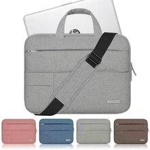 Нейлоновый водонепроницаемый чехол для ноутбука hp Pavilion Omen 13 14 15 чехол для ноутбука X360 сумка на плечо Съемный ремень 14,1 15,6 дюймов рукав