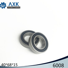 6008 Hybrid Ceramic Bearing 40x68x15 mm ABEC-1 ( 1 PC ) Bicycle Bottom Brackets & Spares 6008RS Si3N4 Ball Bearings 2pcs rubber sealed 440 stainless steel hybrid ceramic ball bearings s6803 6803 2rs 17 26 5mm si3n4 bike part