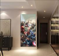 Canvas HD Printed Movie Poster Painting 3 Pieces Modern Avengers Figure Home Decor For Living Room Wall Art Pictures Framework