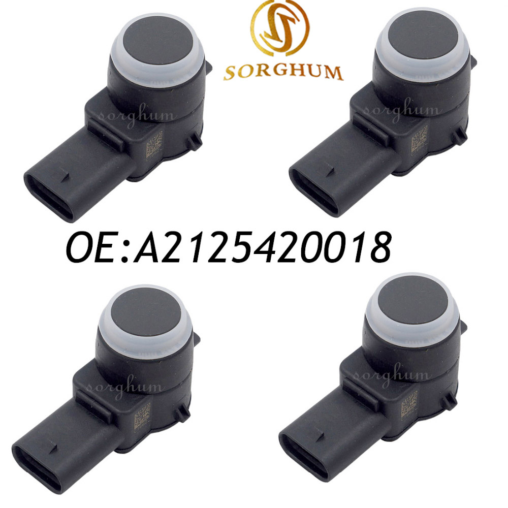 4PCS PDC Parking Sensor For Mercedes-Benz W169 W245 W204 W212 A2125420018 02630231844PCS PDC Parking Sensor For Mercedes-Benz W169 W245 W204 W212 A2125420018 0263023184