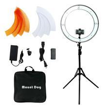 Камера фото фотография кольцо свет Led Телефон селфи Свет Стенд кольцевая лампа с 190 см штатив Фотостудия софтбокс