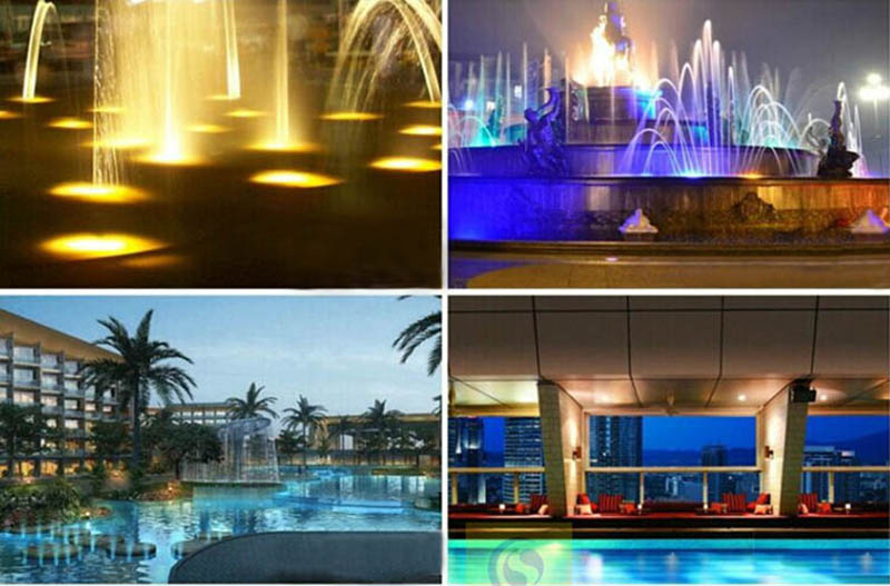 Image 5 - 12V Marine Boat Decoration Light RGB LED Underwater Light Pond Swimming Pool Waterproof Lamp Colorful-in Marine Hardware from Automobiles & Motorcycles