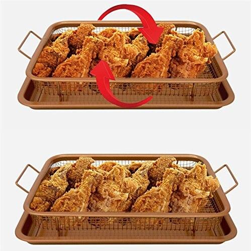 no oil fry pan