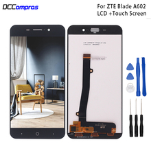 цена на For ZTE Blade A602 LCD Display Touch Screen Digitizer Replacement For ZTE Blade BA602 Screen LCD Display Phone Parts Free Tools