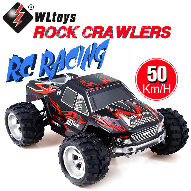 Wltoys A979 1/18 2.4G 4WD Remote Control Car 50KMH High Speed Racing Truck Toy for Children