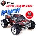 Wltoys A979 1/18 KMH de Alta Velocidad de 2.4G 4WD Coche de Control Remoto de Carreras de Camiones de Juguete para Niños