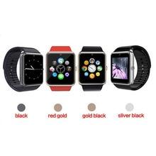 GT08 A1 Neues Smart Uhr Sync Notifier Unterstützung Sim-karte Bluetooth Konnektivität Für Apple iphone Android Telefon Smartwatch
