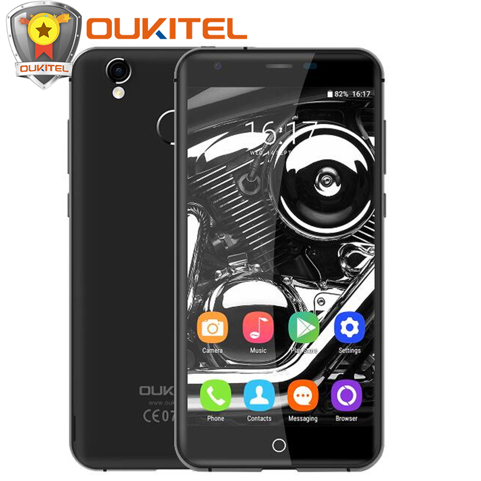 Original OUKITEL K7000 4G LTE Mobile phone Android 6 0 MTK6737 Fingerprint ID 2GB RAM 16GB