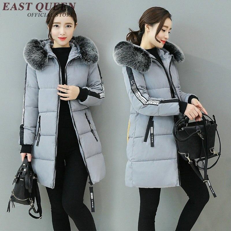 Invernali 3 Pelliccia Signore Y Delle 4 Inverno 2 Outwear Aa3083 Collo Neve Cappotti Donne 1 Parka Caldo Di Giacca Grande 71w8ZOU