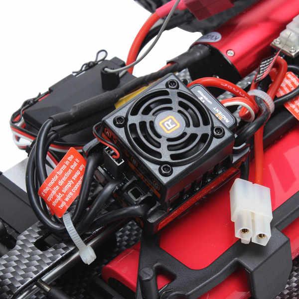 FS Гонки 53631 1:10 2.4GH 4WD бесщеточный монстр грузовик RC игрушка для взрослых или детей игрушки с 7,2 V 1800 mAh Ni-MH батарея