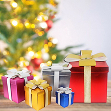 New Christmas Gift Box Paper Packaging Wedding Festival Decoration Candy Chocolate supply