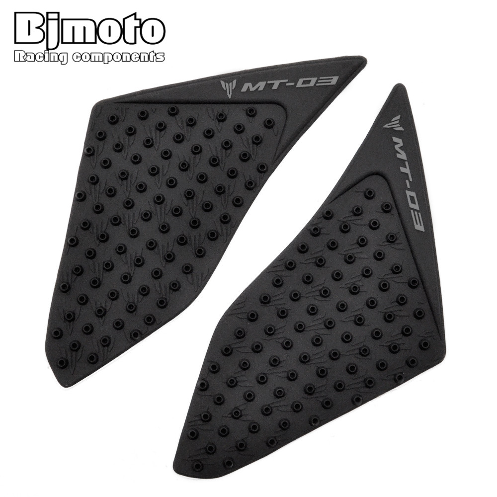 BJMOTO For Yamaha MT03 MT-03 2015 2016 Motorcycle Protector Anti slip Tank Pad Sticker Gas Knee Grip Traction Side Decal bjmoto for ktm duke 390 200 125 motorcycle tank pad protector sticker decal gas knee grip tank traction pad side