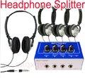 Amplificador de fone de ouvido Fone de Ouvido Splitter Distribution distribuir interruptor Amp