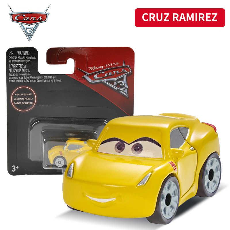 Дисней Pixar тачки 3 Мини Размер металл черный шторм Джексон автомобиль игрушка мини Молния МакКуин Скорость спортивный автомобиль мальчик подарок на день рождения FKL39