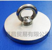 Pulling Lifting Magnet Dia 80mm Holder Magnetic Pot w/. ring Strong Neodymium Permanent deep sea salvage magnet D80*10 10mm