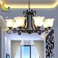 Continental Iron chandelier living room restaurant chandelier ceiling bedroom antique lighting wrought iron chandelier