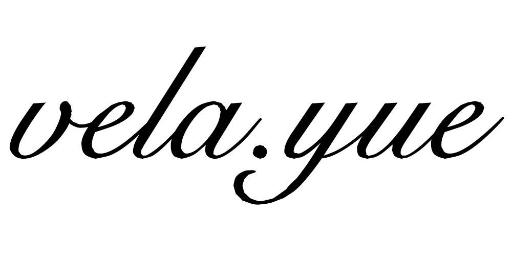 Лого бренда vela.yue из Китая