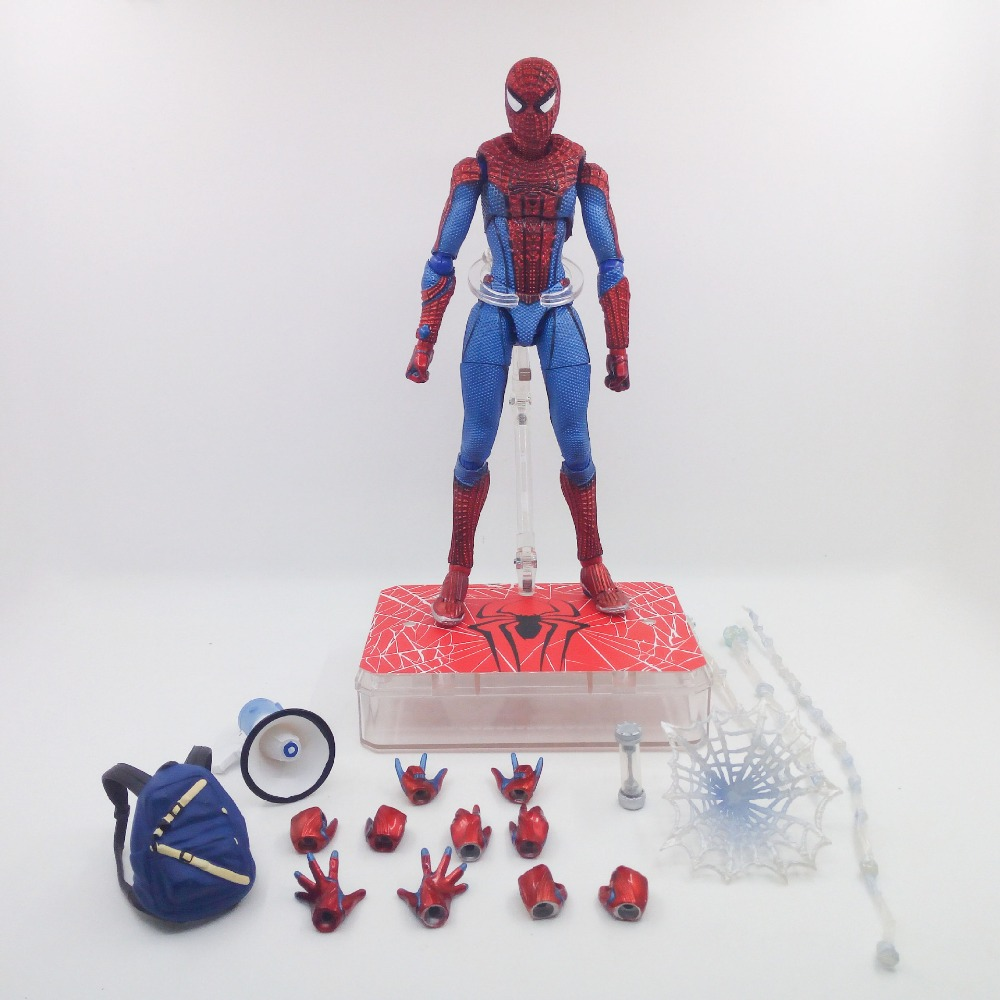 Marvel Toys The Avenger infinity war Super Hero Spider Man PVC Action Figure Toy Dolls XD340 super hero mashers spider man