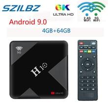 New H10 TV Box Android 9.0 4GB 64GB Allwinner H6 Quad Core 6