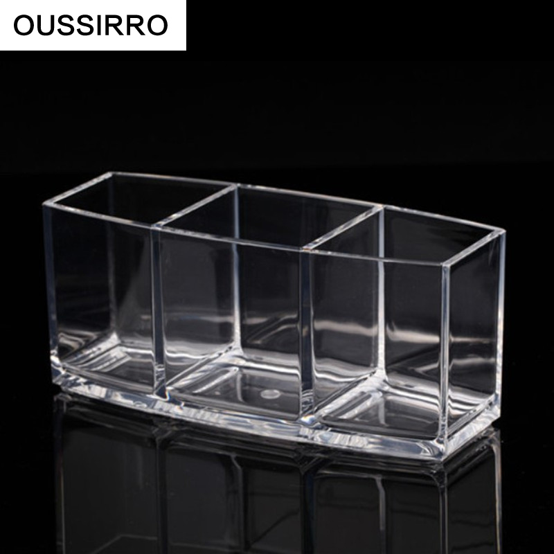 RSCHEF 3 lizdų ekranas laikykite skaidrų akrilo laikymo dėžutę - Organizavimas ir saugojimas namuose - Nuotrauka 3
