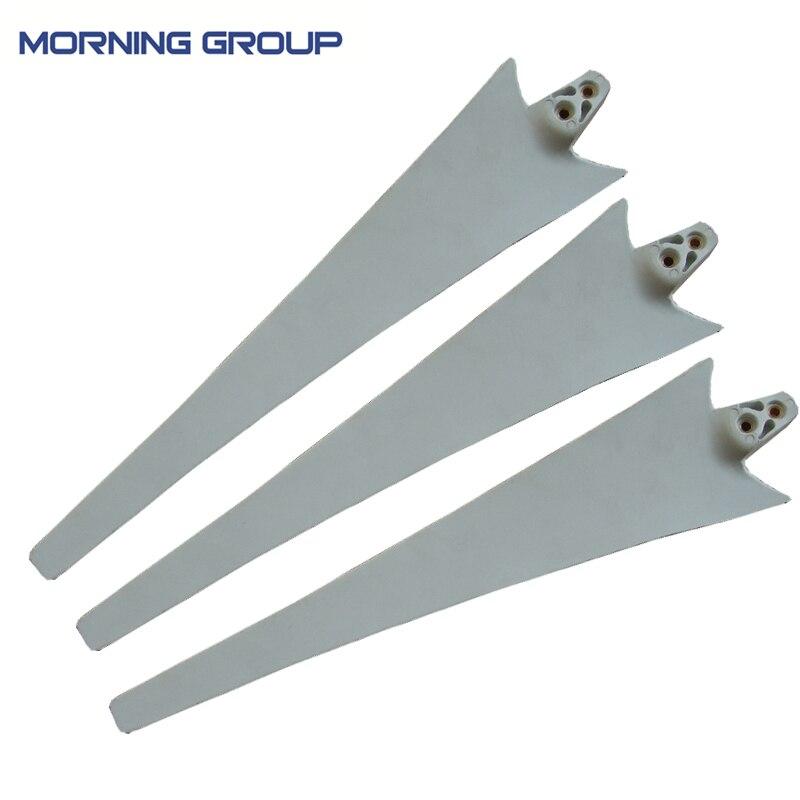 3PCS Wind Turbine Generator Blades Use for 400W Wind Generation  S2