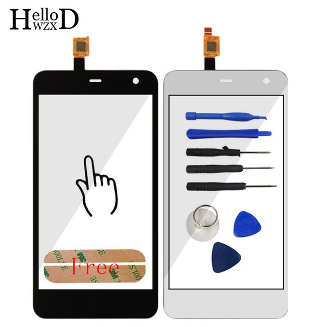 5.0 Mobile Phone Front High Touch Screen For ZTE Blade A465 Touch Glass Digitizer Panel Lens Sensor Flex Cable Capactive Replace