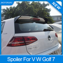 New Design For Volkswagen Golf 7 MK7 Rear Roof Car Spoiler Wing Quality ABS Plastic Spoiler For Golf 7 2014 15 16 17 18 Painted high quality abs for volkswagen vw golf 7 r r line gtd gti spoiler 2014 2015 2016 2017 rear window roof spoiler vw golf spoiler