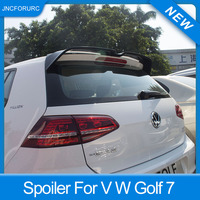 New Design For Volkswagen Golf 7 MK7 Rear Roof Car Spoiler Wing Quality ABS Plastic Spoiler For Golf 7 2014 15 16 17 18 Painted
