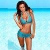 Swimsuit Retro Push Up Bikini Set 2