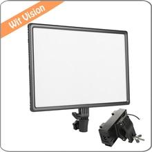 Luxpad43 Air LED Camera Video Light 3200K-5500K for Canon Nikon Pentax Olympas Samsung DSLR & Camcorder