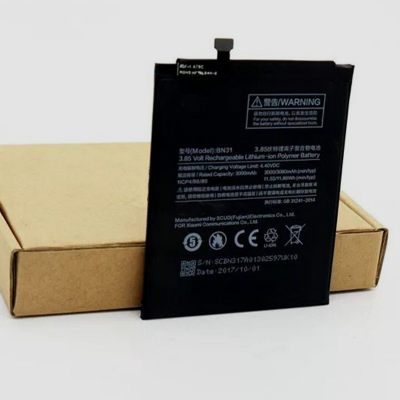 Bn31-Batteries Note-5a Xiaomi Redmi Real-3000/3080mah-Battery For Mi/5x/Mi5x/.. Pro