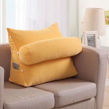 Large Sofa Cushions Triangular Backrest Cushion Living Room Pillows Bed Rest Pillow Back Support Almofada Chair 60KD013