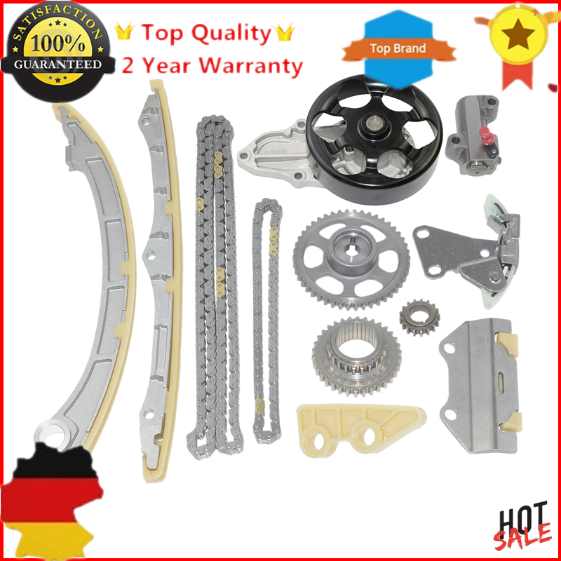 Timing Chain tensioner Kit with water pump For ACURA RSX Honda Accord Civic CR-V III IV FR-V Integra Stream K20 K24 2.0 2.4 DC5 цена