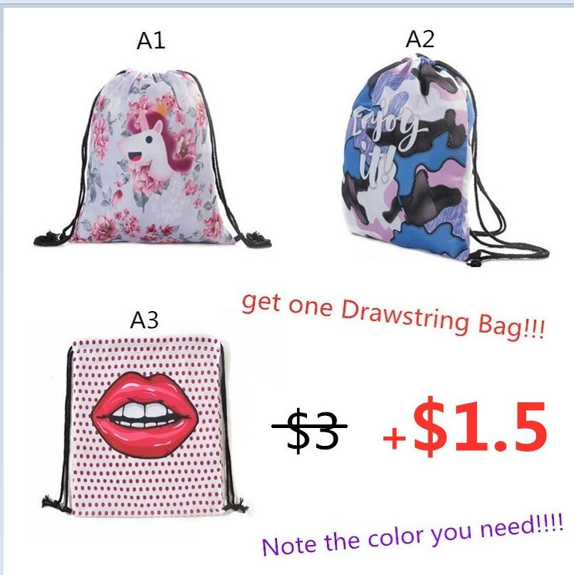Miyahouse Casual Canvas School Backpack Women Lovely Cat Printed Drawstring Backpack Teenager Large Capacity Ladies School Bag