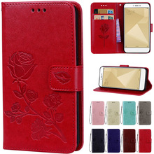 3D Flower Leather Flip Case For Xiaomi Pocophone F1 Mi A1 5X A2 Lite Redmi 5 Plus 6 6A S2 3S 4A Note 4 4X 5 Pro 5A Global Cover