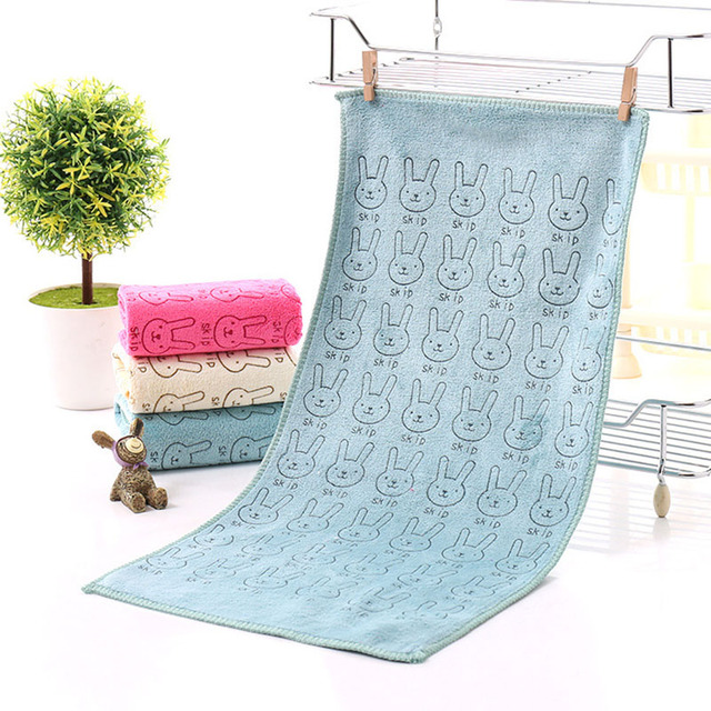 Cartoon Water Absorbing Baby Towel