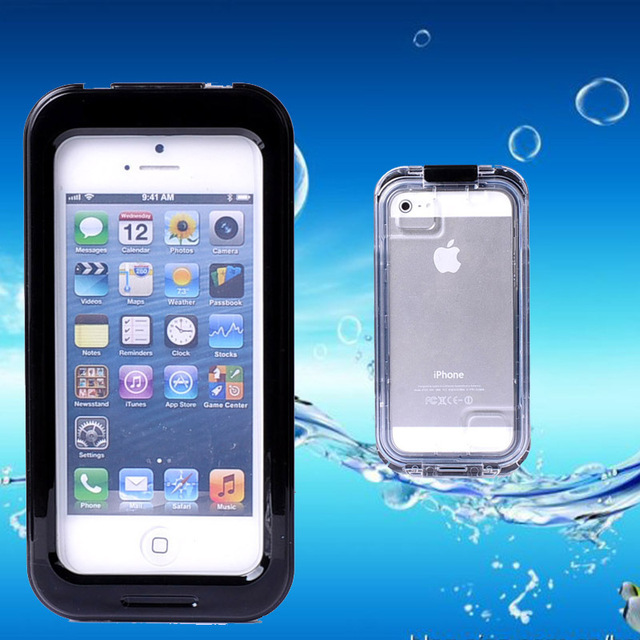 save off ab7be 29edc US $12.18 |Underwater Diving Mobile Phone Bags for iPhone 5S Waterproof  Phone Cases Shockproof Protective Back Cover Case for iPhone5/4S/5C on ...