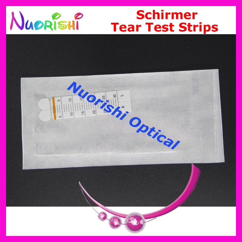 J1 100 Strips 50 Pairs Schirmer Tear Test Strips Paper Ophthalmic Testing Paper Free Shipping