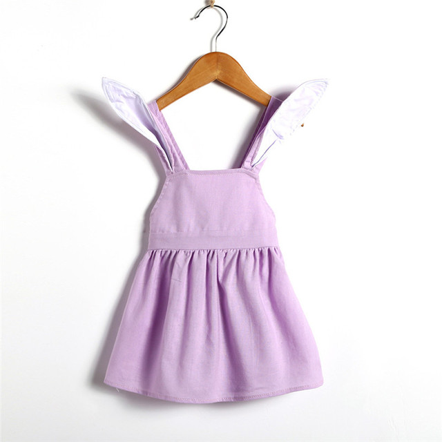 de575bdab4ef 2018 Summer dress Fashion Infant Baby Girls Cute Easter Clothes ...