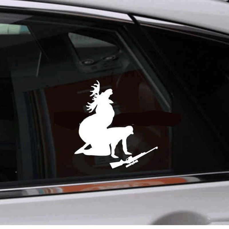 Забавные автомобильные наклейки ersonalized бампер наклейки как я, как мое мясо теперь Смешные Лось охота, охотник #5